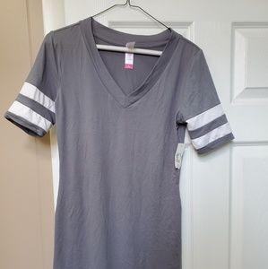 Tee style mini dress